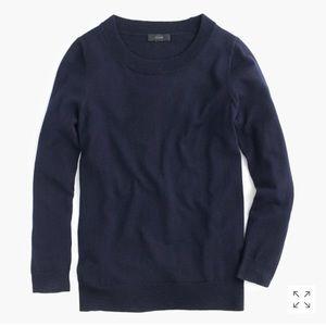J. Crew   Navy Blue Tippi Sweater
